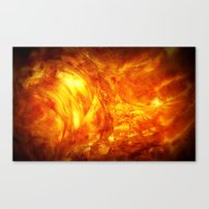 Surface Of The Sun Canvas Print