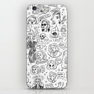 iPhone & iPod Skin featuring Mulder, It's Me by Flash Or Die!