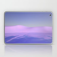 Purple Beach Laptop & iPad Skin