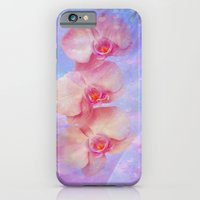 Rosa Orchideen iPhone 6 Slim Case