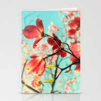 Spring Dogwood Blossoms Stationery Cards