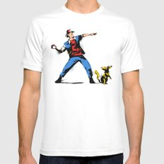 Gotta Catch Em All  Mens Fitted Tee White SMALL
