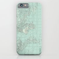 Vintage World Map In Sof… iPhone 6 Slim Case