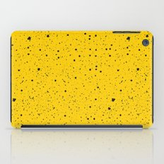 Speckled Yellow iPad Case