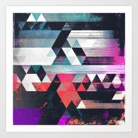 dythyr dysystyr Art Print