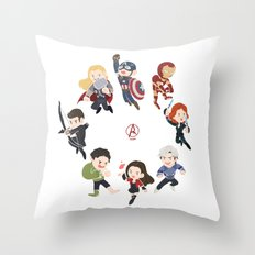 Up together Throw Pillow