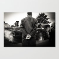 The Timetable Canvas Print