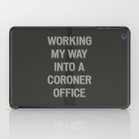 The Coroner Office iPad Case