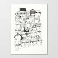 PeopleI Canvas Print
