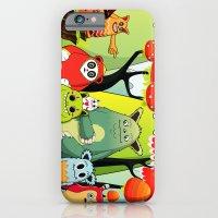 iPhone & iPod Case featuring The Gang by Teodoru Badiu