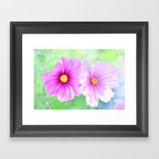 Just you and me... Framed Art Print