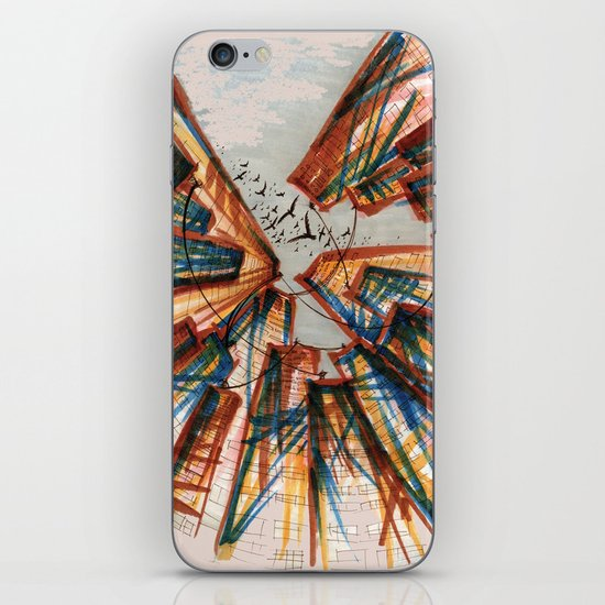 The City pt. 4 iPhone & iPod Skin