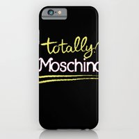 iPhone & iPod Case featuring Totally Moschino Black by RickyRicardo787