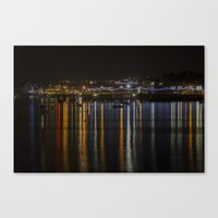 Prince of Wales Pier at Night Canvas Print