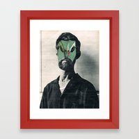 ZÉ FANTAS 2 Framed Art Print
