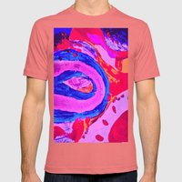 baby feet Mens Fitted Tee Pomegranate SMALL