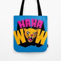 HAHA WOW COUGAR Tote Bag