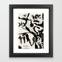 Objective Reality Framed Art Print