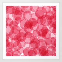 Celebrate with pink! Art Print