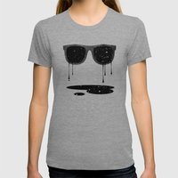 Expand Your Horizon II Womens Fitted Tee Tri-Grey SMALL