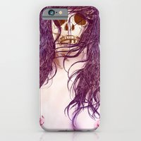 iPhone & iPod Case featuring Give us a kiss (color) by Sami Shah