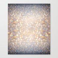 Glimmer Of Light (Ombré… Canvas Print