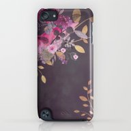 FLOWERS & GOLD  iPod touch Slim Case