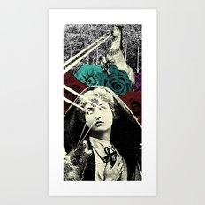 We're Fucked Art Print