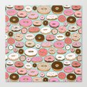 Donut Wonderland Canvas Print