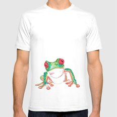 Froglet Mens Fitted Tee White SMALL
