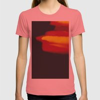 LightLeak Womens Fitted Tee Pomegranate SMALL