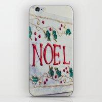 Noel Merry Christmas iPhone & iPod Skin