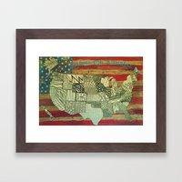 Search for America Framed Art Print