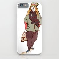 Girl And A Tuque iPhone 6 Slim Case