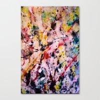 Below Canvas Print