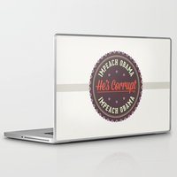 obama Laptop & iPad Skins featuring Impeach Obama by conservative