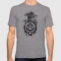 Super Trippin Bros. Mario is All Stars. Mens Fitted Tee Athletic Grey SMALL