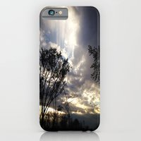 iPhone & iPod Case featuring Peaceful and powerful sunset by Allison corn