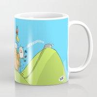 Life is like a mountain range Mug