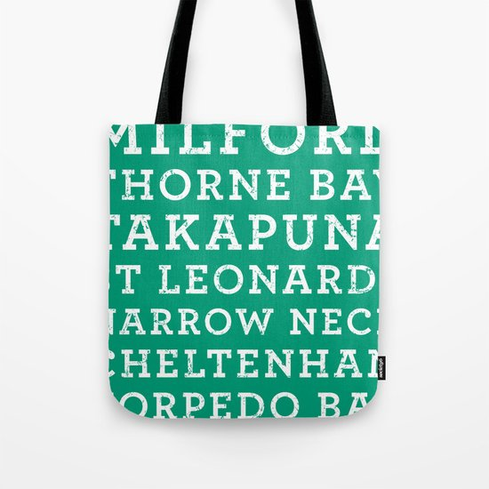 Life's a beach - Emerald Tote Bag