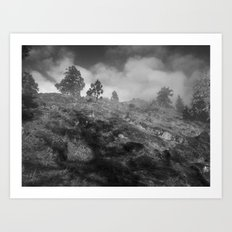 Towards the Watch Art Print
