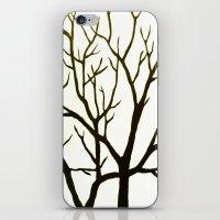 WHITE TREE iPhone & iPod Skin