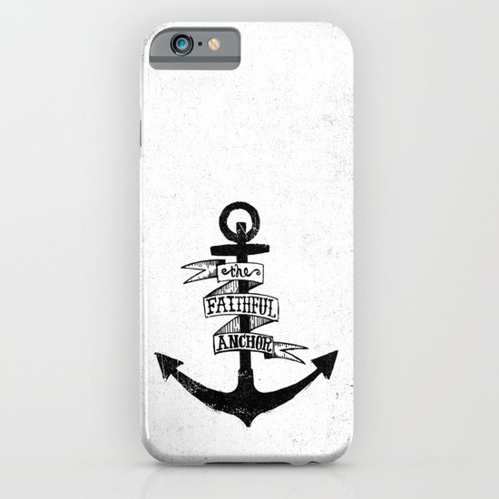 The Faithful Anchor iPhone & iPod Case
