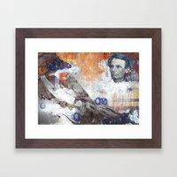 Beardless Woods Framed Art Print