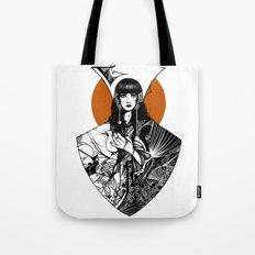 Lady Detail (alternate version) Tote Bag