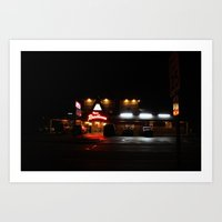 Roadhouse.  Art Print