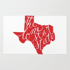 The Lone Star State - Texas Rug