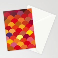 Red Scales Stationery Cards