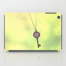 dainty key iPad Case