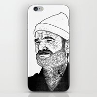 Team Zissou iPhone & iPod Skin